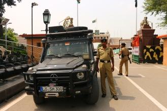 Wagha Border Pakistan - India