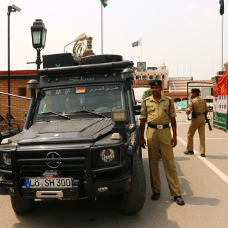 Wagha Border Pakistan - India