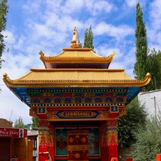 Gebetsmühle in Leh