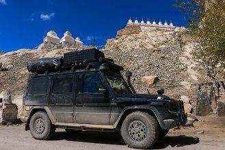 Stupas in Shey