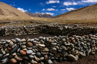 verlassenes Camp der Nomaden