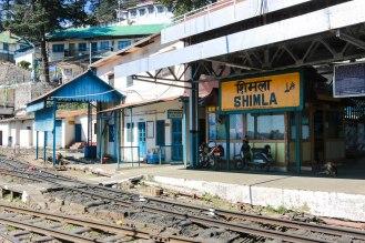 Bahnhof Shimla