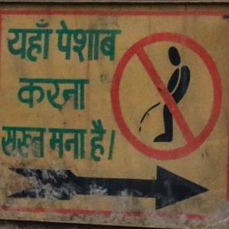 wohin, wenn man keine Toilette hat?