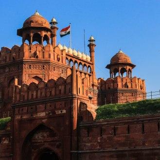 Old Delhi - das rote Fort