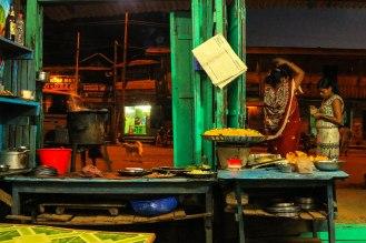 Straßenküche in Moreh