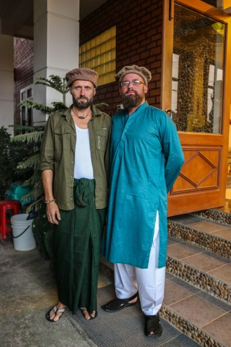 Ali G and Emiel S