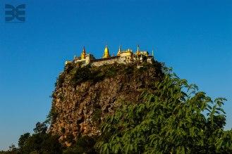 Meteora in Myanmar - Mount Popa