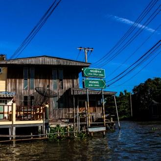 auf den Wasserstraßen von Bangkok