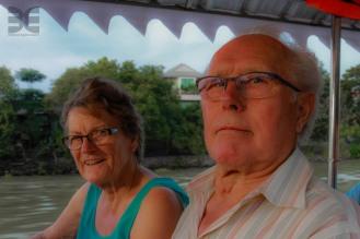 unterwegs auf den alten Kanälen von Ayutthaya