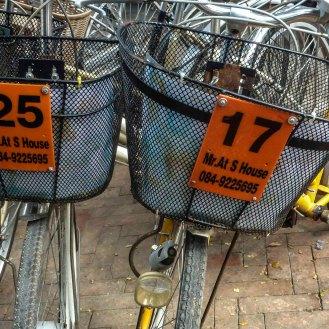per Rad geht's durch Ayutthaya