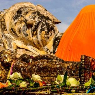 Wat Lokayasutharam - Ayutthaya