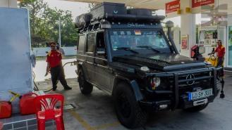 Kraftstoff für das Beast - in Thailand no problem