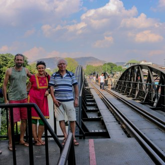 die Brücke am Kwai - Familienfoto