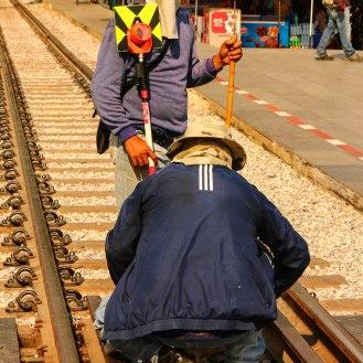 Gleisarbeiter
