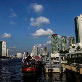 Hotelboot des Ramada Plaza in Bangkok