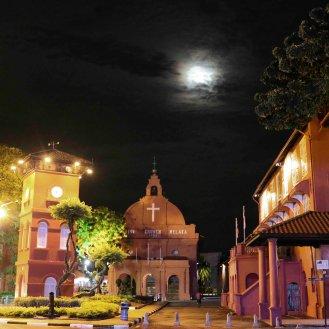 der rote Platz in Malakka