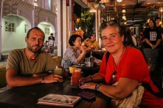 Singapur Sling in der Alley Bar