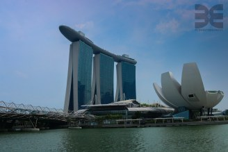 Art Science Museum und Marina Bay Sands