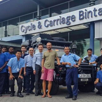 C&C Johor Bahru Abschied aus Malaysia