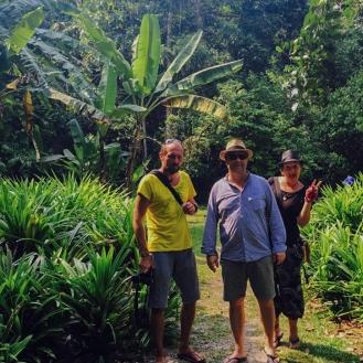 grüne Seite Singapurs Pulau Ubin