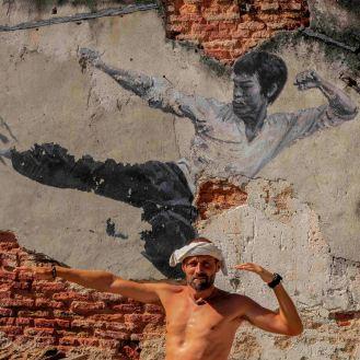Streetart in George Town