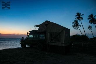 Camping an der Klapa Klum Bar