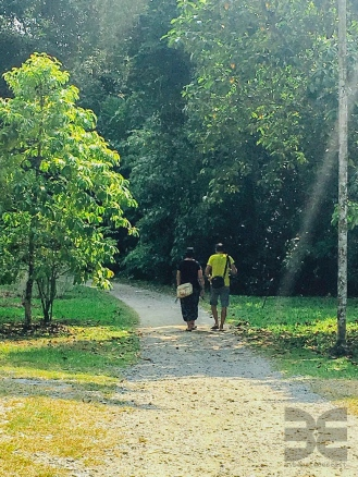 Spaziergang auf Pulau Ubin