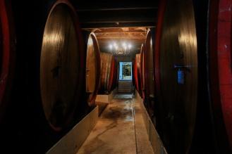 im Weinkeller von Blauuwklippen