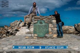 Cap Agulhas - südlichster Punkt des afrikanischen Kontinents