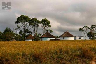 Rundhütten der Zulu