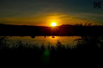 Sonnenuntergang bei Aussenkehr