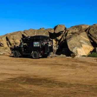 Camp in Lüderitz