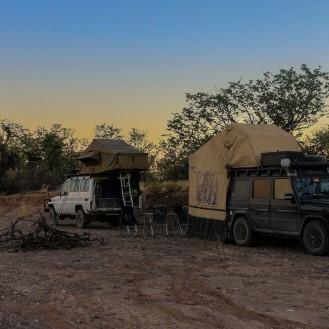 Bushcamp mit Helga & Rinus