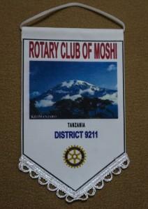 Wimpel des RC Moshi