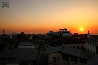 über den Dächern von Zanzibar