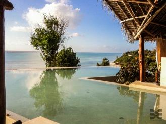 Blick vom Hotel Ras Michamvi