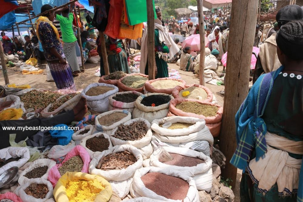 market lalibela